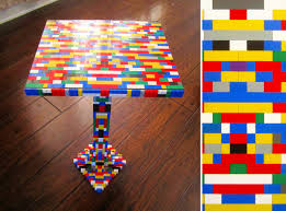 Diy Lego Table by 21 Insanely Cool Diy Lego Furniture And Home Decor Creations