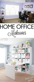 Best  Office Makeover Ideas On Pinterest Diy Home Office - Home office designs on a budget