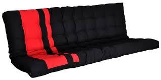 matelas futon canapé matelas futon banquette et noir zino lestendances fr