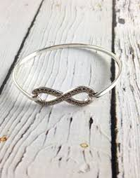 infinity bangle bracelet images Silver and marcasite infinity bangle bracelet silver in the city jpg