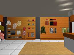 good 3d building scheme and floor plans ideas for house office