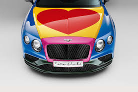 a1 bentley the pop art bentley peter blake spices up a conti by car magazine