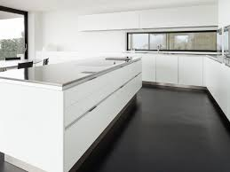 Grey White Kitchen Fine White Kitchen Grey Splashback An Example Of A Contemporary