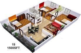 1500 sq feet house plans photos india