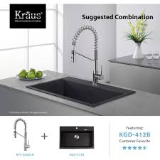 kraus kpf 2630ss mateo stainless steel kitchen faucets commercial