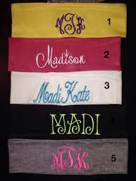 monogram headband 60 best monogrammed stuff images on monograms