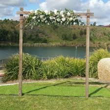 wedding arches geelong rustic wooden wedding arch the wedding arch by ceremonies i do