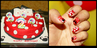easy disney minnie mouse nail art makeup review and beauty blog
