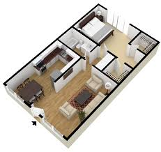 Open Floor Plan Studio Apartment Square Foot Housens Cottage Open Floorn For Foot800 75 Rare 800