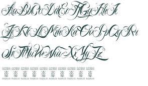 cursive fonts generator free fancy script fonts for tattoos free