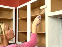 How To Repaint Cabinet Doors How To Paint Kitchen Cabinets Tos Diy Inside Painting Cabinet