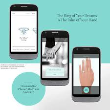 wedding ring app the engagement ring app the heart bandits