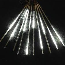 led meteor shower tube lights 10pcs led meteor shower tube lights double sided 19 7 60leds ip65