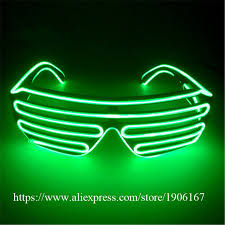 party sunglasses with lights wholesale price el wire party sunglasses colorful led lighting