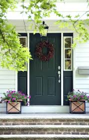 front door impressive colored front door design green front door