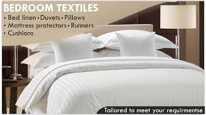 hotel bed linen bedding pillows duvets bed spreads towels