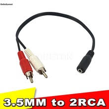 aliexpress buy hot gold plated 5mm 3 5mm tungsten y adapter audio cable reviews online shopping y adapter audio