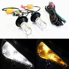 20w led turn signal bulbs drl with load resistor kit