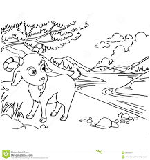 goat coloring pages coloring page