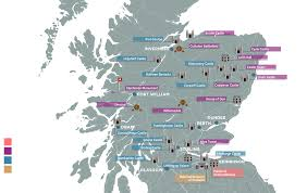 Map Of Scotland And England by Borders Journeys Tailor Made Private Guided Sightseeing