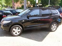 hyundai santa fe 2007 black left drive hyundai santa fe westernlhd any of left