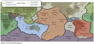 Map Of Tectonic Plates Plate Tectonics