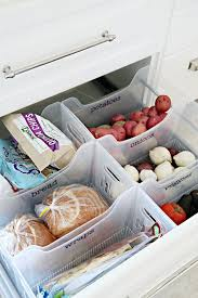 Organization In The Kitchen - making the most of a pantry less kitchen cabinet space food