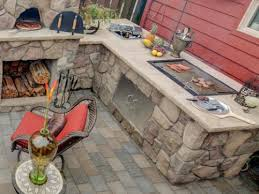 rustic outdoor kitchen ideas rustic outdoor kitchen design smith design simple astounding