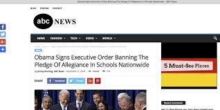 Pledge Of Allegiance Worksheet How To Spot Fake News
