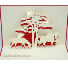 horses u2013 3d pop up card u2013 lovehorsegifts