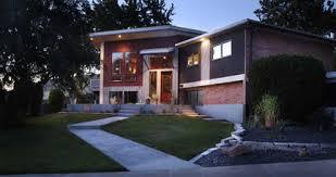 modernized split level split levels pinterest ranch homes