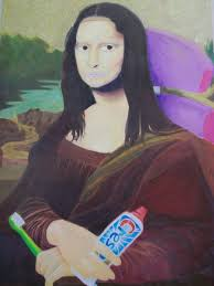 mona cat mona lisa toothpaste by chub e cat studios on deviantart