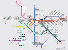 Barcelona Metro Map by