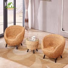 habitat set rattan chair three piece coffee table balcony tables