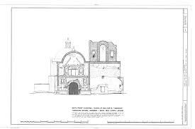 Mission San Jose Floor Plan by File San Jose De Tumacacori Mission Ruins Tubac Santa Cruz