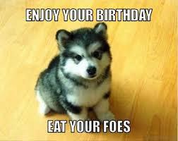 Crazy Wolf Meme - 48 amazing birthday memes