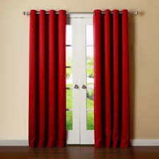 Grommet Curtains Buy Red Grommet Curtains From Bed Bath U0026 Beyond