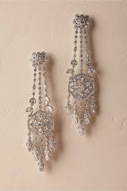chandelier earings brinda chandelier earrings silver in bhldn