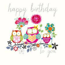 Happy Birthday Owl Meme - spotlight birthday collection rom rosanna rossi www rosanna rossi