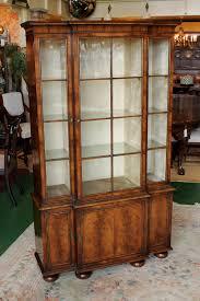 Break Front Bookcase Small Walnut Breakfront Bookcase Antiques Atlas