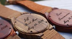 wooden groomsmen gifts wooden groomsmen gifts for a cause wedding party by wedpics