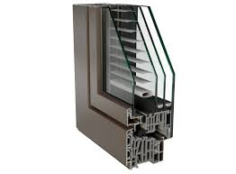 aluminium windows with built in blinds archiproducts