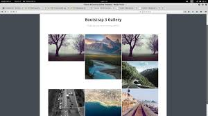 jquery bootstrap gallery white spaces stack overflow