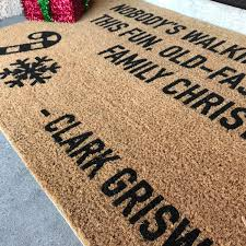 the old fashioned family christmas doormat clark griswold
