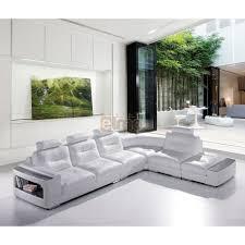canapé cuir angle soldes canapé cuir canapé d angle blanc design contemporain promo