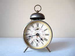 1900 french antique alarm clock metal bell alarm clock french