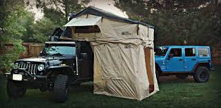 jeep roof top tent roof top tent with annex review video on the rocks