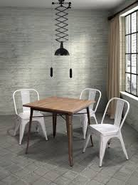 Steel Dining Chairs Dining Room Epic Picture Of Dining Room Decoration Using White