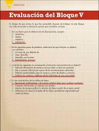 examen de 5 grado con respuestas ayuda para tu tarea de quinto español bloque 5 evaluación del bloque v