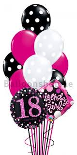 birthday balloon bouquets delivered 18th birthday girl helium balloon bouquet delivery in dubai abu